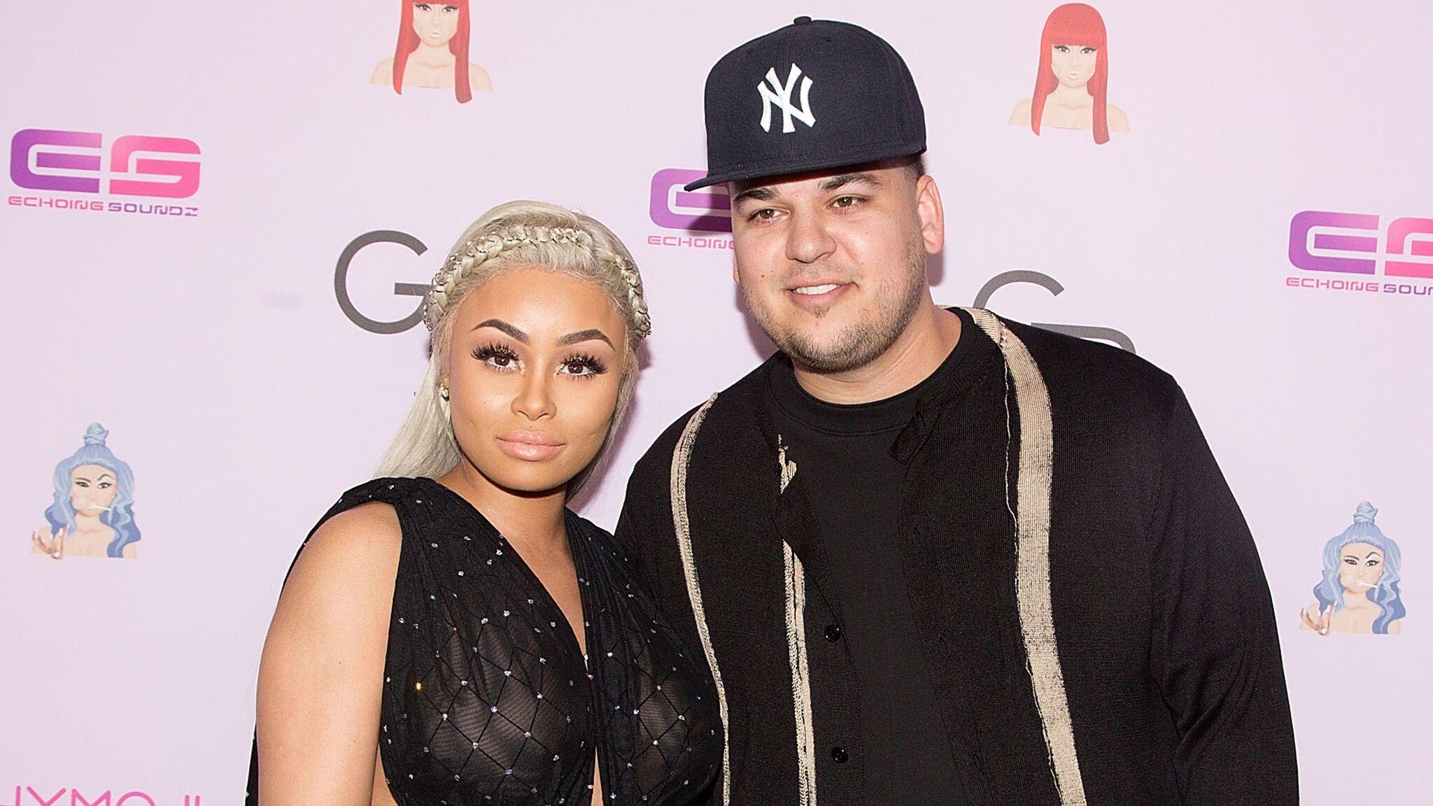 59cf5a02b8ca6 Rob Kardashian et Blac Chyna ont enfin trouvé un accord pour la garde de  leur fille ! - Voici