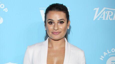 PHOTOS Lea Michele: sublime, elle ose le maxi décolleté à une soirée pour les Emmy Awards