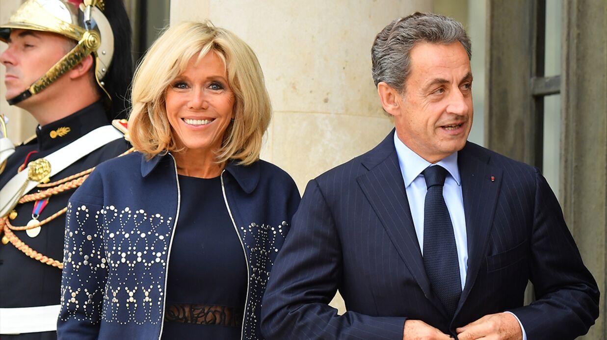 Nicolas Sarkozy fan de Brigitte Macron: «Elle est super»