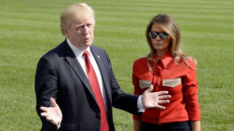 L'étrange comportement de Donald Trump avec sa femme Melania consterne (et amuse) les internautes
