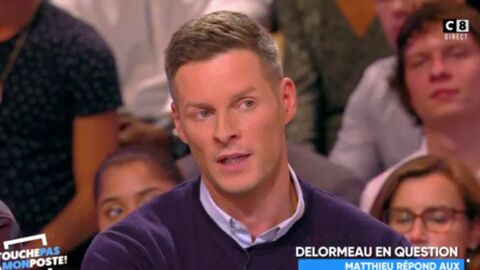 VIDEO Matthieu Delormeau s'explique sur son départ de TPMP: «J'ai mal géré»