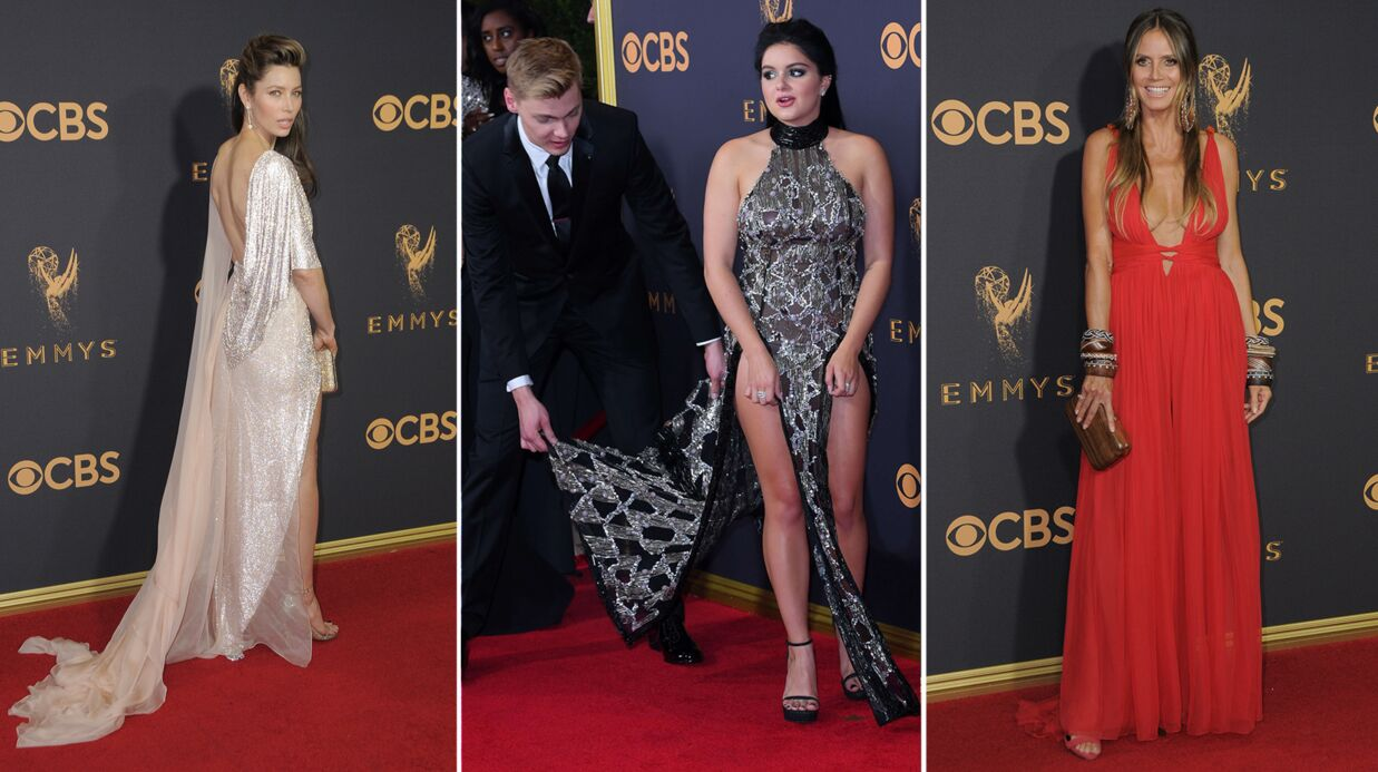 PHOTOS Emmy Awards: Heidi Klum très décolletée, une actrice frôle l'accident de robe