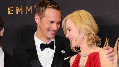 PHOTOS Nicole Kidman embrasse Alexander Skarsgard en pleine cérémonie des Emmy Awards