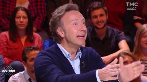 VIDEO Vexé, Stéphane Bern règle ses comptes avec les historiens qui le critiquent