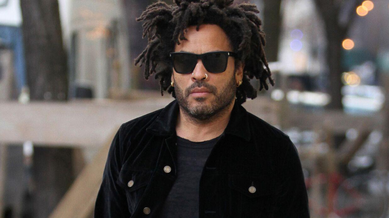 PHOTO Lenny Kravitz arrêté à Paris pour une surprenante raison