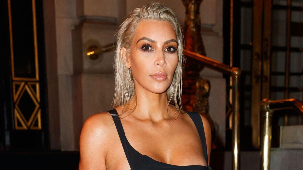 Kim Kardashian poste des photos de sa séance de maquillage: c'est horrible (et flippant)
