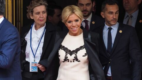 PHOTOS Brigitte Macron très chic en blanc pour son deuxième jour à New York