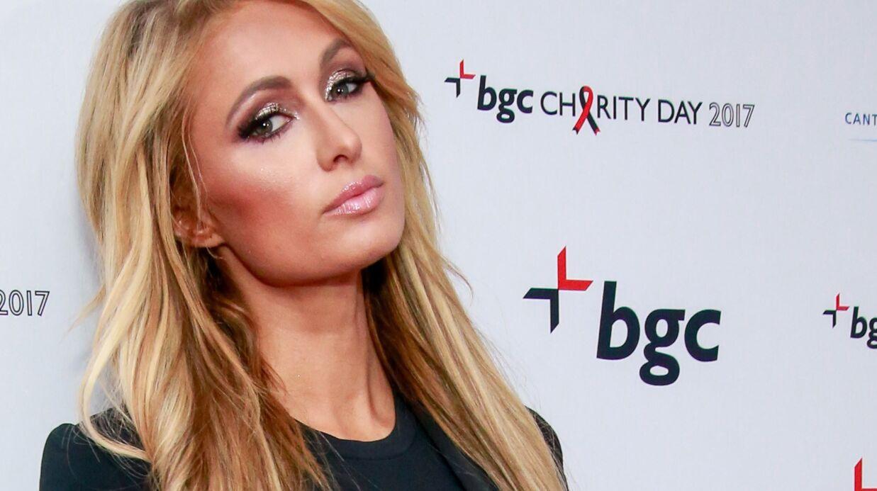 PHOTO Paris Hilton toute nue sous sa robe en filet, c'est torride!