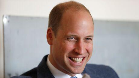 Le prince William ironise sur sa calvitie et c'est (très) drôle