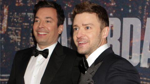 Justin Timberlake souhaite un joyeux anniversaire à son meilleur ami, Jimmy Fallon, et c'est très drôle