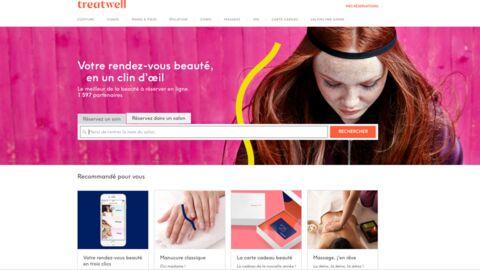 Treatwell, l'appli bon plan pour réserver un soin beauté en ligne