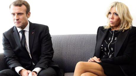 PHOTOS Brigitte Macron en mini-robe pour rencontrer un prix Nobel de la paix, elle fait polémique