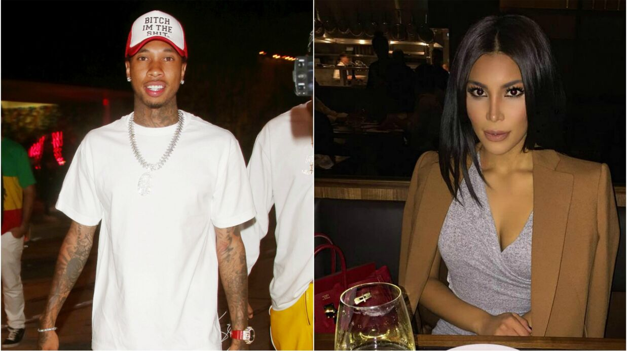 PHOTOS Tyga: l'ex de Kylie Jenner en couple avec le sosie de Kim Kardashian