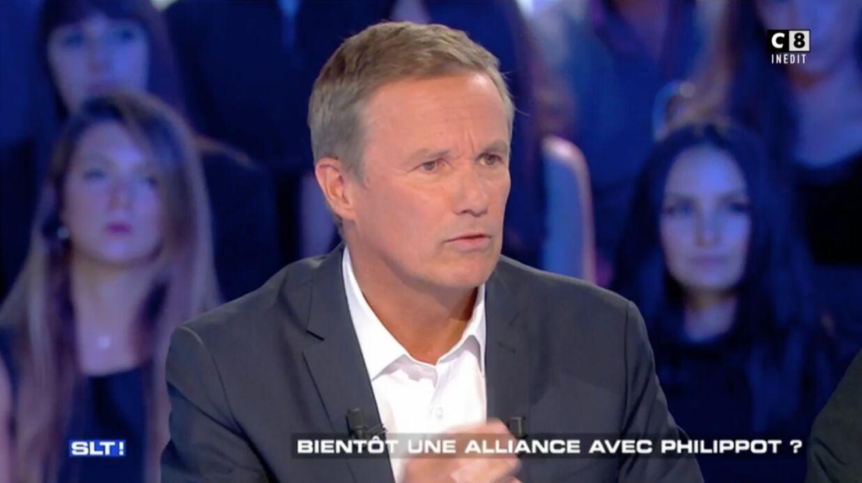VIDEO Nicolas Dupont-Aignan s'en prend violemment à Stéphane Guillon, qui avait ironisé sur la mort de sa mère