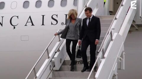 VIDEO Emmanuel et Brigitte Macron : leur tendre baiser à New York