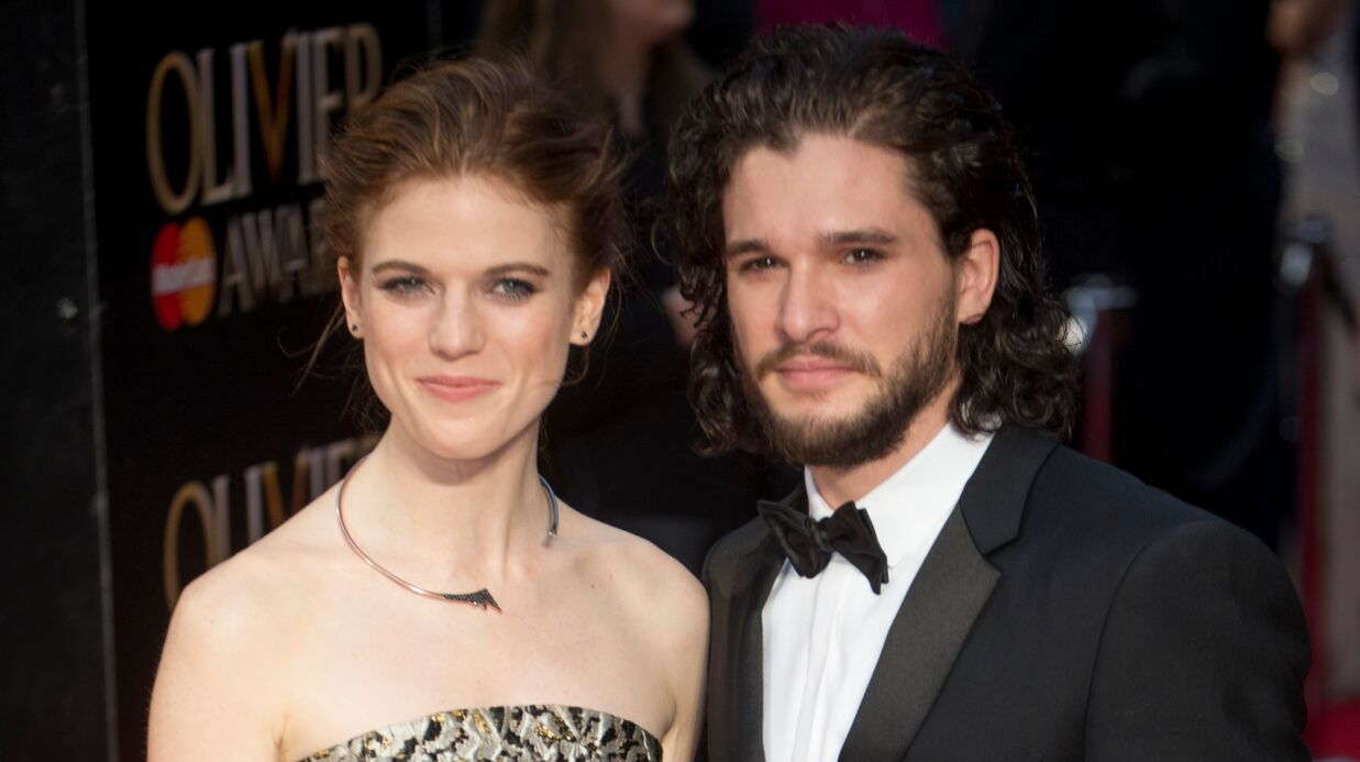 Game of Thrones : Kit Haring­ton (Jon Snow) et Rose Leslie (Ygritte) se sont fian­cés !