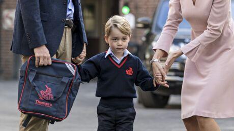 Prince George: 3 semaines après la rentrée, il en a déjà marre d'aller à l'école