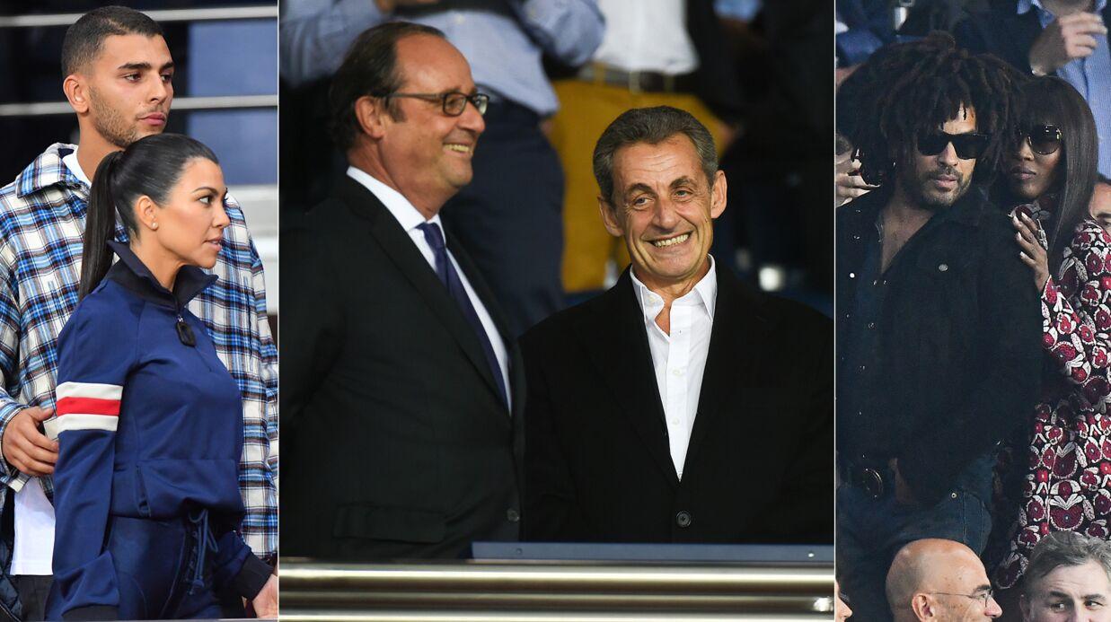 PHOTOS Kourtney Kardashian et son chéri français, Hollande et Sarkozy refont le monde au Parc des princes