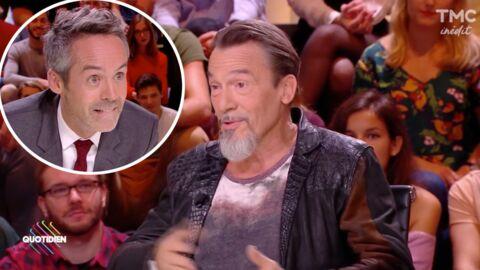 VIDEO Florent Pagny se paie Yann Barthès qui refusait de l'inviter dans Quotidien