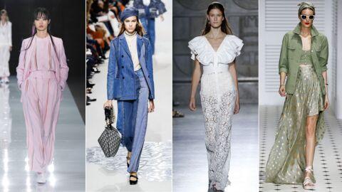 Fashion Week printemps-été 2018: les plus beaux looks des défilés