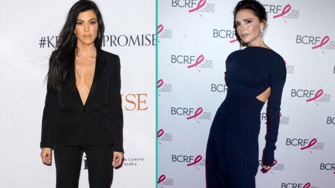 PHOTOS Victoria Beckham et Kourtney Kardashian se font des petites blagues sur Instagram