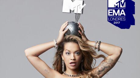 MTV EMA 2017: la chanteuse Rita Ora aux commandes de la cérémonie