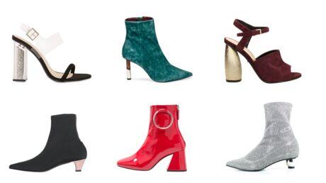MODE 16 paires de chaussures avec des talons fous, fous, fous