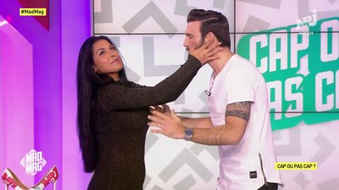 VIDEO Ayem Nour embrasse Aymeric Bonnery sur la bouche