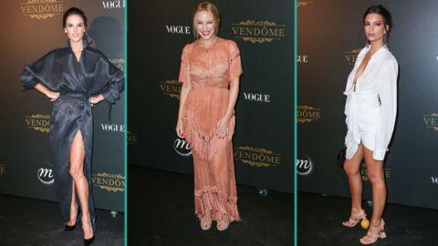 PHOTOS Emily Ratajkowski ultra décolletée et Alessandra Ambrosio très sexy à la soirée Vogue