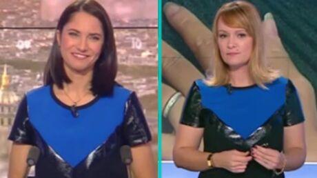 Les animatrices des matinales de BFMTV et CNews portent la même tenue en même temps: leurs réactions drôles