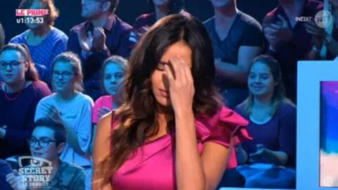 VIDEO Leila Ben Khalifa : en plein direct, elle quitte le plateau du Débrief de Secret Story en larmes