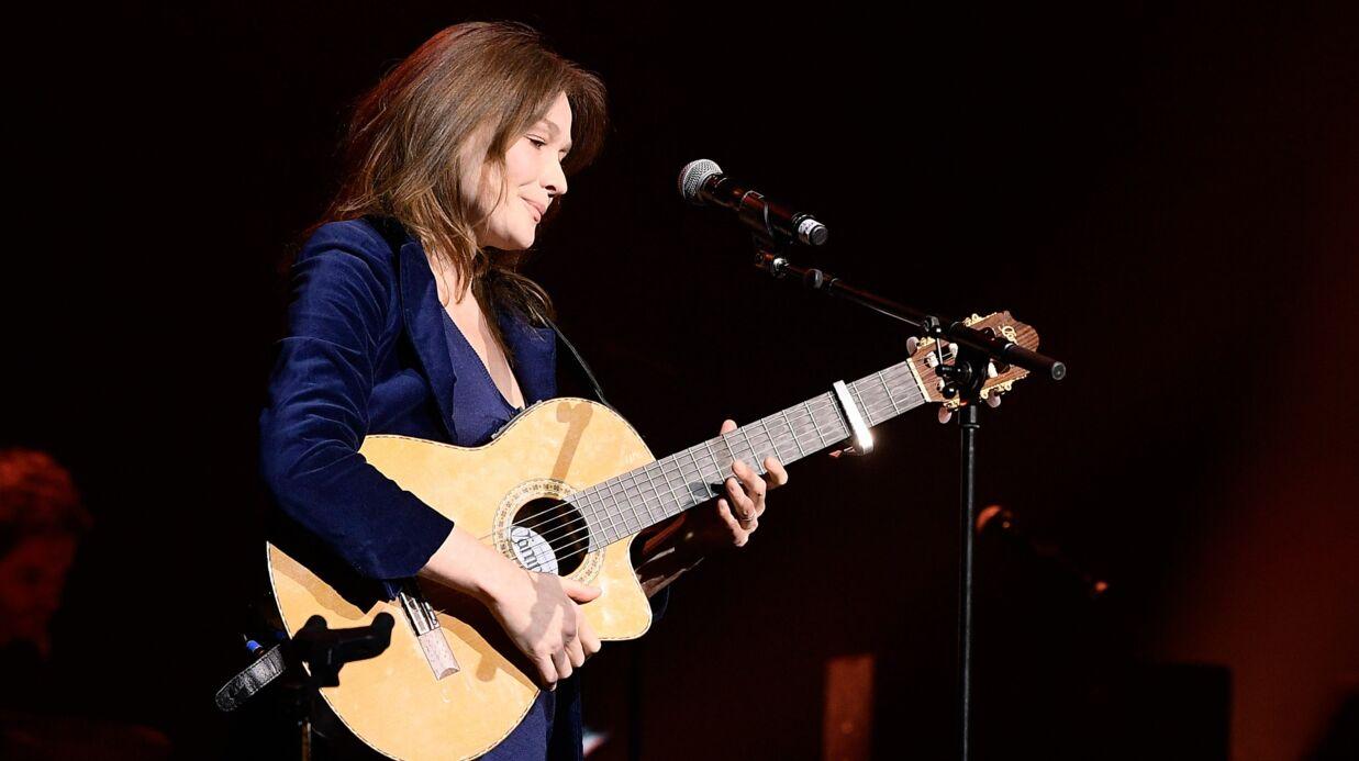 Carla Bruni: sa chanson fuite dans la presse, elle ne la sortira jamais