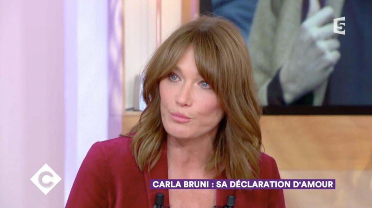 VIDEO Carla Bruni: sa belle déclaration d'amour à Nicolas Sarkozy