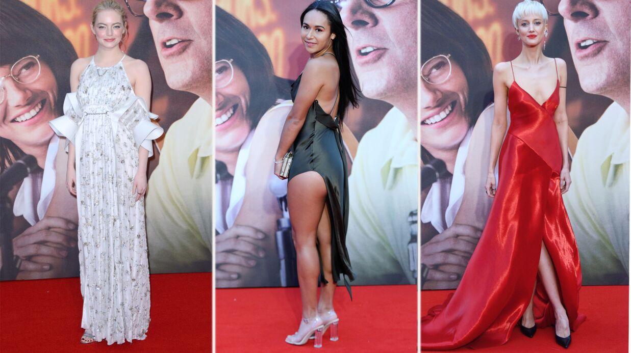 PHOTOS BFI London Film Festival: une tenniswoman montre ses fesses à côté d'une Emma Stone canon