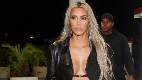 PHOTOS Kim Kardashian fait ses courses en minuscule soutien-gorge transparent