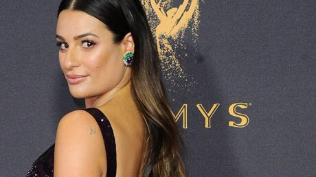 PHOTO Lea Michele topless dans son lit