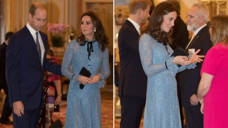 PHOTOS Kate Middleton affiche un joli début de baby bump lors d'une apparition publique