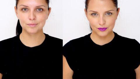VIDEO Le tuto make up de Ludivine: comment se faire une bouche mate