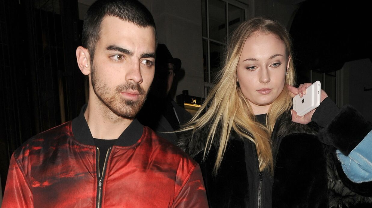 PHOTO Sophie Turner (Game of Thrones) et Joe Jonas se sont fian­cés !