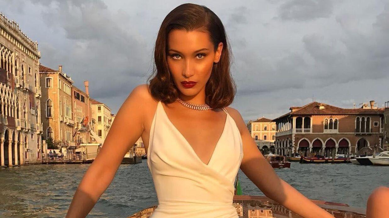 Bella Hadid se filme en culotte échancrée: c'est très sexy
