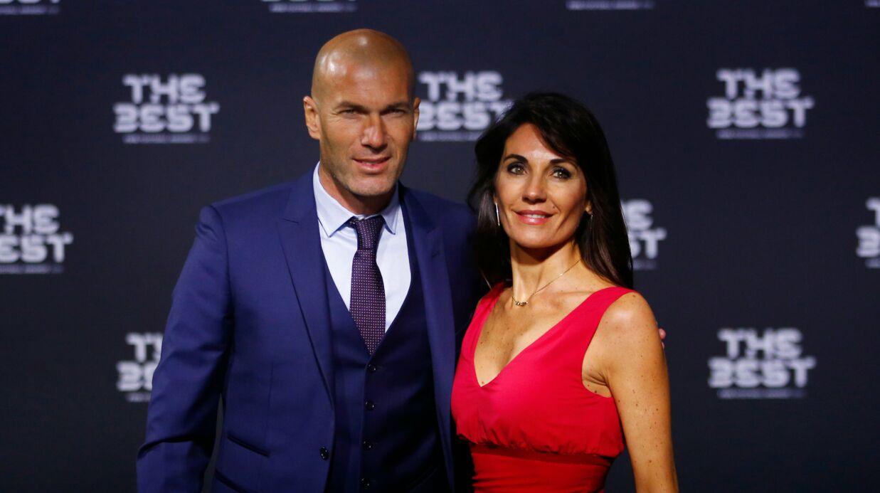 PHOTO Véronique Zidane partage un moment complice avec son fils Luca