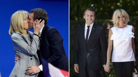 PHOTOS Brigitte et Emmanuel Macron fêtent leurs 10 ans de mariage, retour sur leurs moments les plus tendres