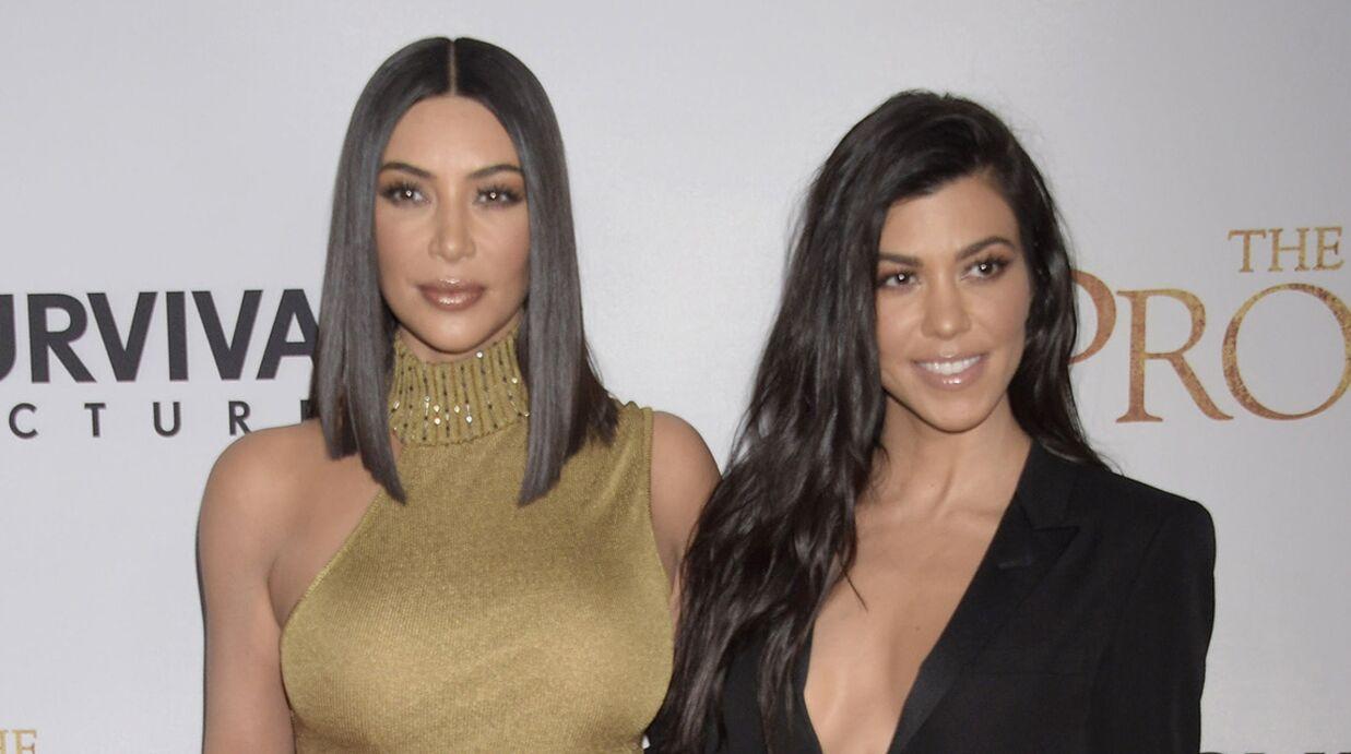 PHOTO Kim Kardashian: sa soeur Kourtney publie un cliché ultra sexy pour son anniversaire