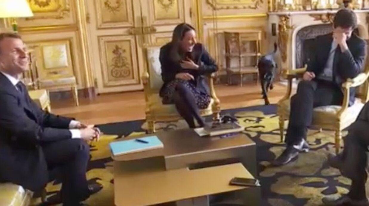 Emmanuel Macron: quand son chien Nemo urine en pleine réunion à l'Elysée