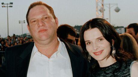 Harvey Weinstein: Juliette Binoche raconte ses rencontres avec un personnage qu'elle avait vite cerné