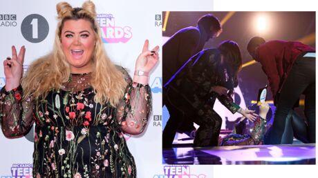 L'énorme chute en vidéo de Gemma Collins en direct des Radio 1 Teen Awards anglais