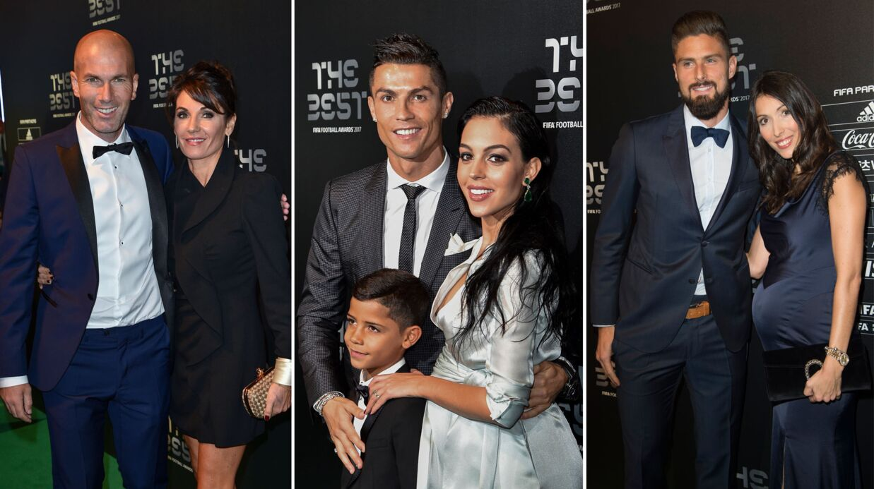 FIFA Football Awards: Véronique Zidane sublime, la compagne de Cristiano Ronaldo affiche son baby bump