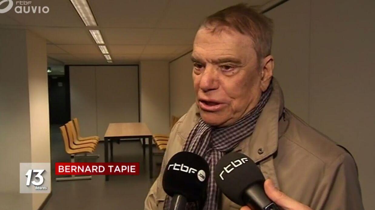 Bernard Tapie: sa première apparition depuis l'annonce de son combat contre la maladie