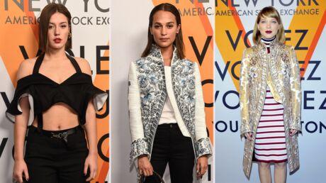 PHOTOS Léa Seydoux et Adèle Exarchopoulos, jeunes mamans rayonnantes à l'expo Vuitton de New York