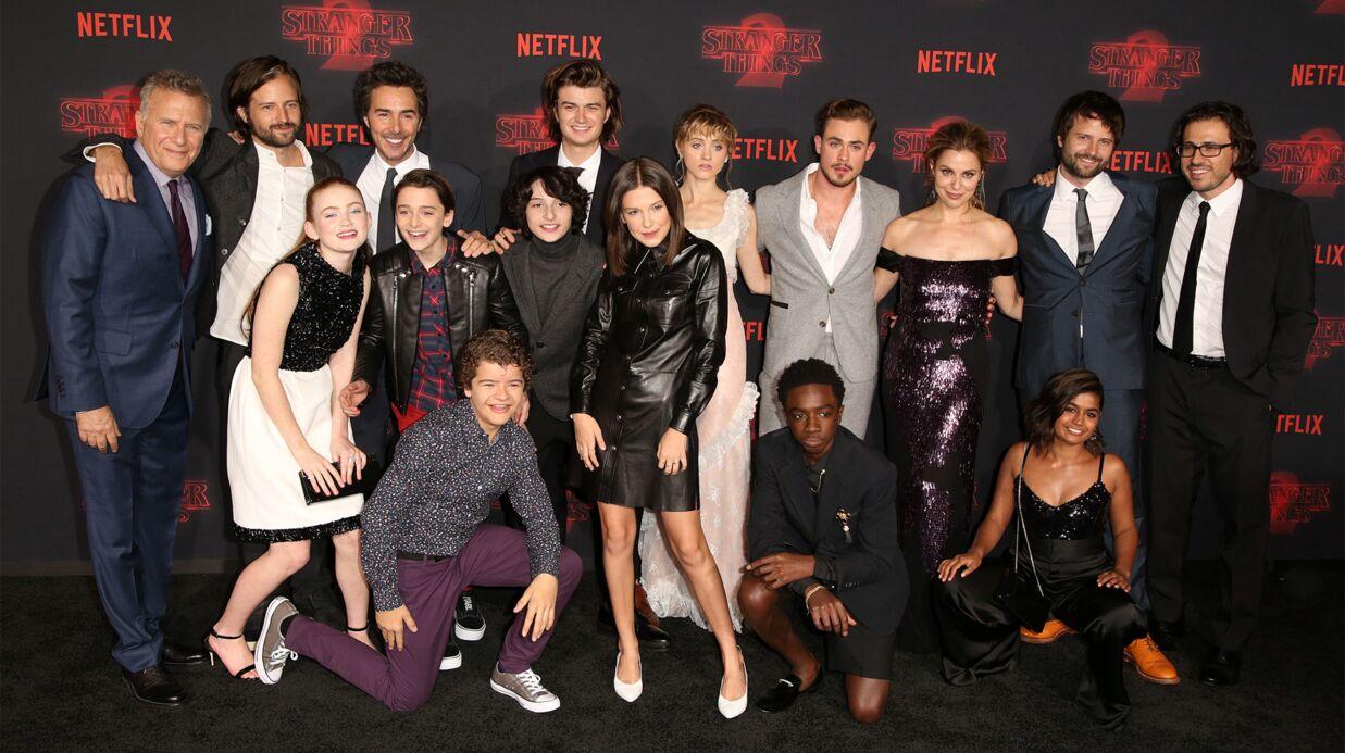 PHOTOS Les enfants de Stranger Things s'éclatent au lancement de la saison 2